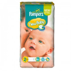 Pack 80 Couches Pampers New Baby Premium Protection taille 2 sur 123 Couches