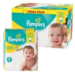 Maxi giga pack 320 Couches Pampers New Baby Premium Protection taille 2