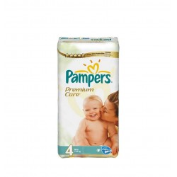 Pack 18 Couches de Pampers Premium Care taille 4 sur 123 Couches