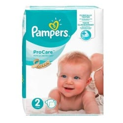 Pack 36 Couches Pampers ProCare Premium protection taille 2 sur 123 Couches