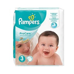 Pack 32 Couches Pampers ProCare Premium protection taille 3