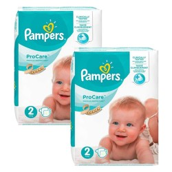 Giga pack 216 Couches Pampers ProCare Premium protection taille 2