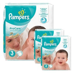 Pack 96 Couches Pampers ProCare Premium protection taille 3 sur 123 Couches