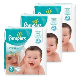 Maxi mega pack 416 Couches Pampers ProCare Premium protection taille 3 sur 123 Couches