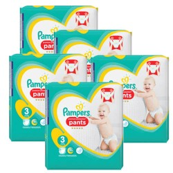 210 Couches Pampers Premium Protection Pants taille 3 sur 123 Couches