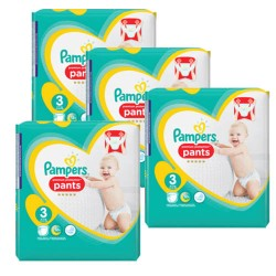 Giga pack 280 Couches Pampers Premium Protection Pants taille 3