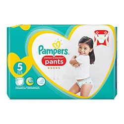 Pack 40 Couches Pampers Premium Protection Pants taille 5 sur 123 Couches