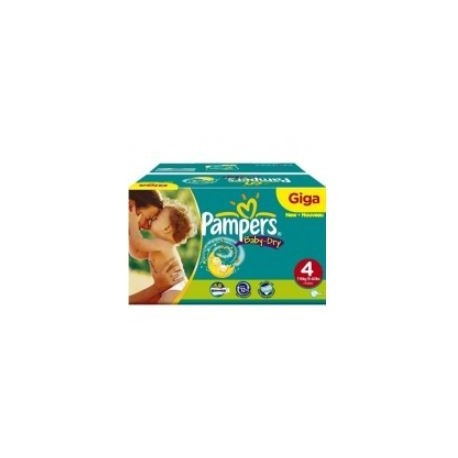 Maxi giga pack 345 Couches Pampers Baby Dry taille 4 sur 123 Couches