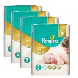 Giga pack 260 Couches Pampers Premium Care taille 5 sur 123 Couches