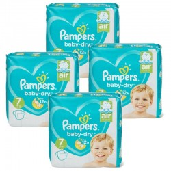 Mega pack 105 Couches Pampers Baby Dry taille 7 sur 123 Couches