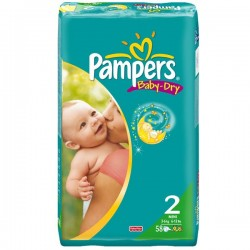 Couches pampers en vente pampers pas cher sur 123couches - Couches pampers new baby taille 2 pas cher ...