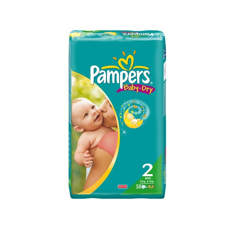 Couches pampers baby dry taille 2 petit prix 58 - Prix couches pampers baby dry taille 2 ...