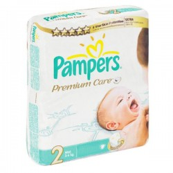 Pack 23 Couches Pampers Premium Care de taille 2 sur 123 Couches