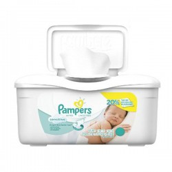 Pack d'une quantité de 56 Lingettes Bébés de Pampers Sensitive
