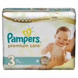 Maxi Pack 300 Couches de la marque Pampers Premium Care taille 3 sur 123 Couches