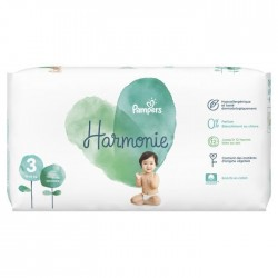 Pack 66 Couches Pampers Harmonie taille 3 sur 123 Couches