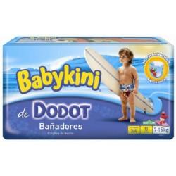 Pack d'une quantité de 12 Couches de bains Dodot de la gamme Maillot de bain taille 4