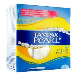 Pack économique d'une quantité de 60 Tampons Tampax Pearl - 3 Packs de 20 taille regular avec applicateur sur 123 Couches