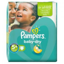 Pack 32 Couches Pampers Active Fit taille 4 sur 123 Couches