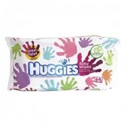Pack 64 Lingettes Bébés de la marque Huggies Baby Wipes
