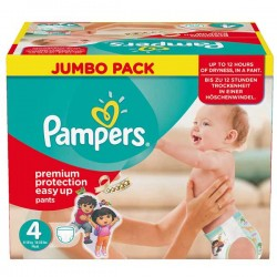 Pack 210 Couches Pampers Easy Up de taille 4 sur 123 Couches