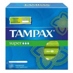 Pack d'une quantité de 20 Tampons Tampax Classique de taille SuperavecApplicat sur 123 Couches