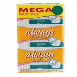 Pack de 144 Serviettes hygiéniques Always Simply Fits taille normal plus sur 123 Couches