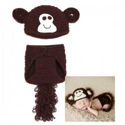 Mon premier ensemble Premier ensemble nouveaux nés de la marque Choupinet Monkey sur 123 Couches