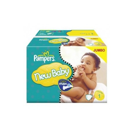 Pack jumeaux 648 Couches Pampers New Baby Premium Protection taille 1 sur 123 Couches
