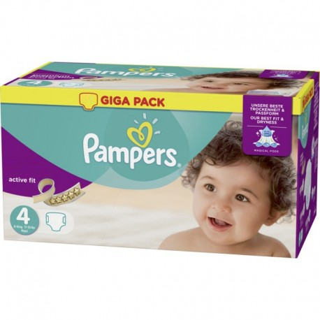 Mega pack 160 Couches Pampers Active Fit Pants taille 4 sur 123 Couches