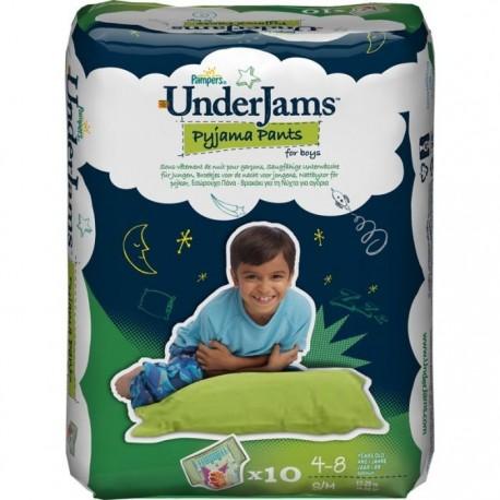 Pack 10 Sous-vêtements jetables Pampers Underjams taille S/M sur 123 Couches