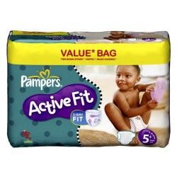 Maxi giga pack 174 Couches Pampers Active Fit taille 5+