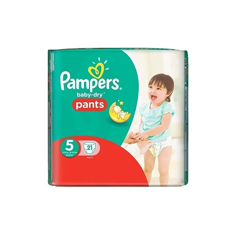 couches pampers baby dry pants taille 5 en promotion 21. Black Bedroom Furniture Sets. Home Design Ideas