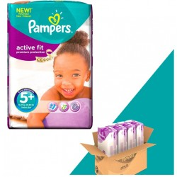 Giga Pack 348 Couches Pampers Active Fit taille 5+
