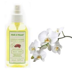 Huile de beauté à l'extrait d'orchidée 100% pur et végétal sur 123 Couches