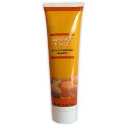 Crème gommage visage aux Noyaux d'abricots & Amandes sur 123 Couches
