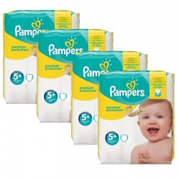 Mega Pack 160 Couches Pampers New Baby Premium Protection taille 5+