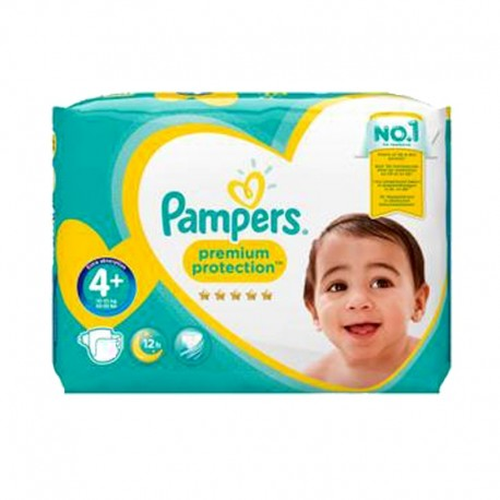 62 Couches Pampers Premium Protection Taille 4 A Petit Prix Sur 123