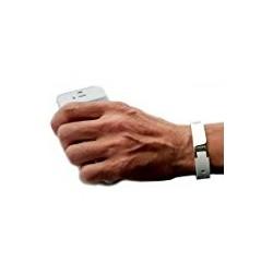 Bracelet d'énergie Stimulant Ion Blanc sur 123 Couches