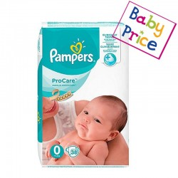Pack 38 Couches Pampers ProCare Premium protection taille 0 sur 123 Couches