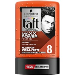 Taft Gel 300 ml Maxx Power N°8 sur 123 Couches