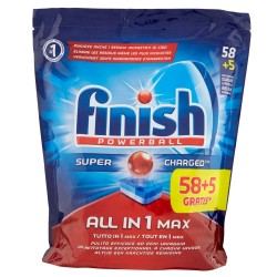 Finish Tabs 63 Powerball Super Charged Special Graisses All in 1 Max (1027 gr) sur 123 Couches