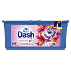 Dash Pearls 30 Coquelicot & Fleurs de Cerisier 2en1 (792 gr) sur 123 Couches
