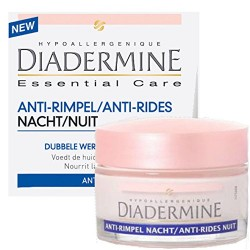 Diadermine Essential Care 50 ml Anti-Rides Nuit sur 123 Couches