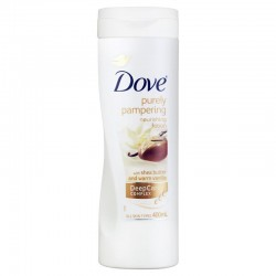 Lait Corps Dove Purely Pampering Shea Butter & Warm Vanilla sur 123 Couches