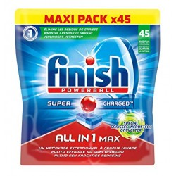 Finish Tabs 45 Powerball Super Charged All in 1 Max (734 gr) sur 123 Couches