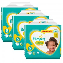 Maxi Pack 210 Couches Pampers New Baby - Premium Protection taille 5