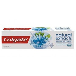 Dentifrice Colgate Natural Extracts Blancheur Eclatante sur 123 Couches