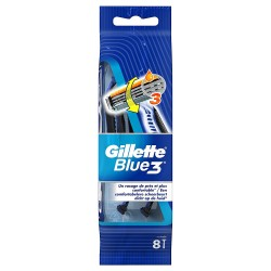 Gillette Blue3 Rasoirs Jetables 8 pc.Edition Football sur 123 Couches