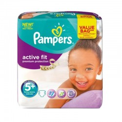 Pack 32 couches Pampers Active Fit Premium Protection sur 123 Couches